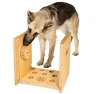 Die Nasenkiste eignet sich auch für große und kräftige Hunde